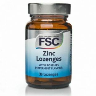 FSC Zinc Lozenges with Rosehips 36 Lozenges